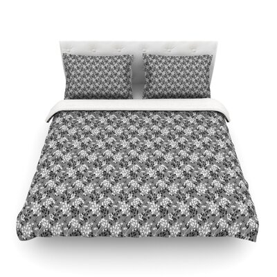 Dandy Floral by Holly Helgeson Featherweight Duvet Cover Size: Twin