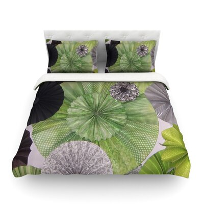 Serenity by Heidi Jennings Featherweight Duvet Cover Size: Full/Queen