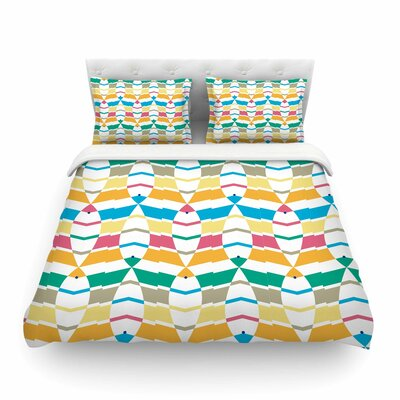 Percy Lemore Pattern by Gukuuki Featherweight Duvet Cover Size: Full/Queen