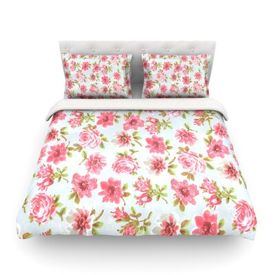 Petals Forever by Heidi Jennings Featherweight Duvet Cover Size: King