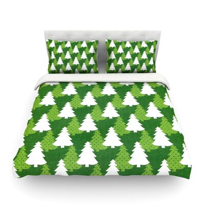 Pine Forest by Heidi Jennings Featherweight Duvet Cover Size: King