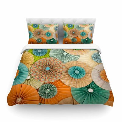 Summer Party by Heidi Jennings Featherweight Duvet Cover Size: King