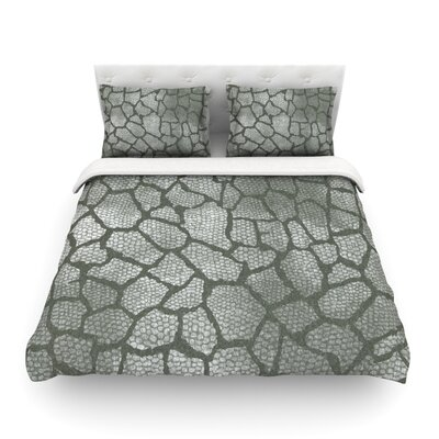 Snake Skin by Heidi Jennings Featherweight Duvet Cover Size: Twin
