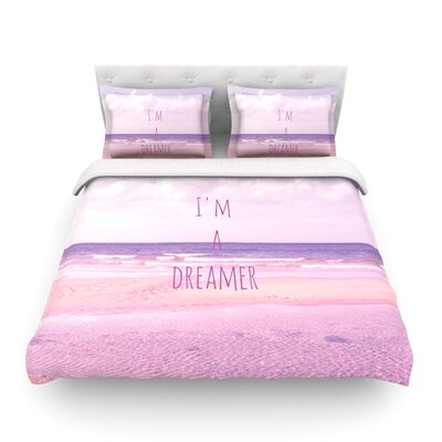 Im a Dreamer Beach by Iris Lehnhardt Featherweight Duvet Cover Size: Twin