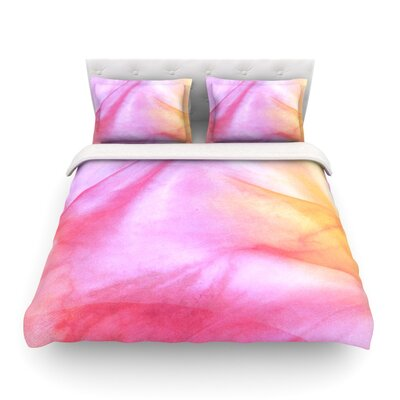 Pastel Haze by Heidi Jennings Featherweight Duvet Cover Size: Full/Queen