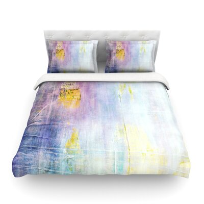Color Grunge by  Iris Lehnhardt Featherweight Duvet Cover Size: Twin
