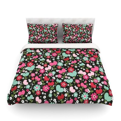 Love is Growing by Heidi Jennings Featherweight Duvet Cover Size: Twin