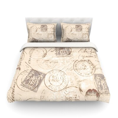 World Traveler by Heidi Jennings Featherweight Duvet Cover Size: Twin