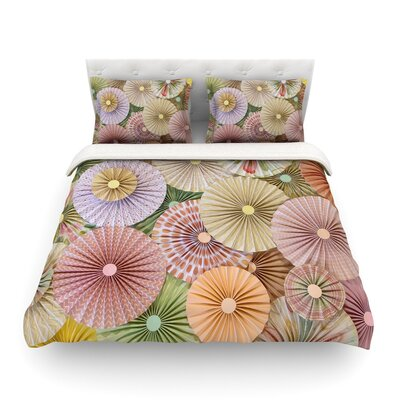 Spring Pastels Abstract by Heidi Jennings Featherweight Duvet Cover Size: Full/Queen