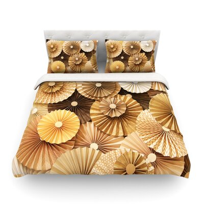 Caramel Latte by Heidi Jennings Featherweight Duvet Cover Size: Twin