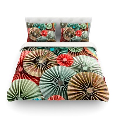 Sherbert by Heidi Jennings Featherweight Duvet Cover Size: Full/Queen