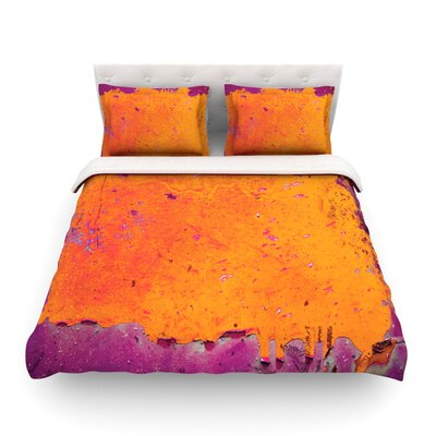 Paint by Iris Lehnhardt Featherweight Duvet Cover Size: Twin