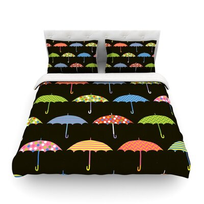 Umbrella by Heidi Jennings Featherweight Duvet Cover Size: Full/Queen