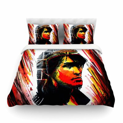 Tsoi Is Alive People by Ivan Joh Featherweight Duvet Cover Size: King