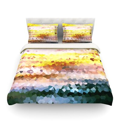 Turaluraluraluuu Pixel by Iris Lehnhardt Featherweight Duvet Cover Size: King