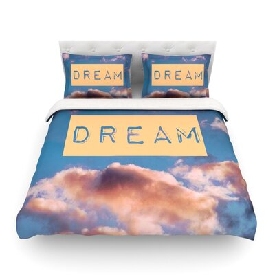 Dream Clouds by Iris Lehnhardt Featherweight Duvet Cover Size: Full/Queen