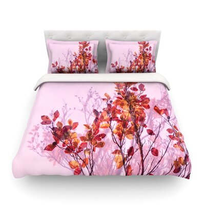 Autumn Symphony by Iris Lehnhardt Featherweight Duvet Cover Size: Twin