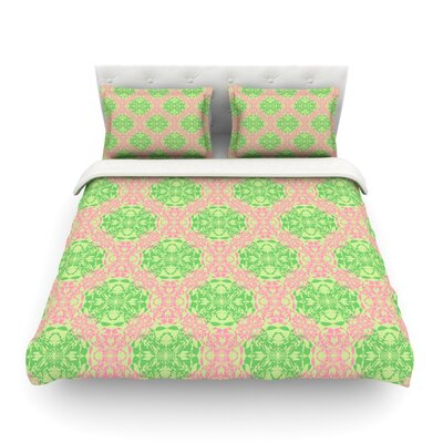 Diamond Illusion Damask by Mydeas Featherweight Duvet Cover Size: Twin