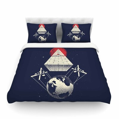 Under Control Digital by Digital Carbine Featherweight Duvet Cover Size: Full/Queen