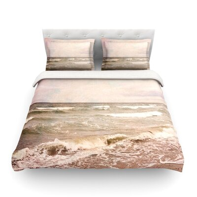 Romantic Sea Beach by Iris Lehnhardt Featherweight Duvet Cover Size: Twin