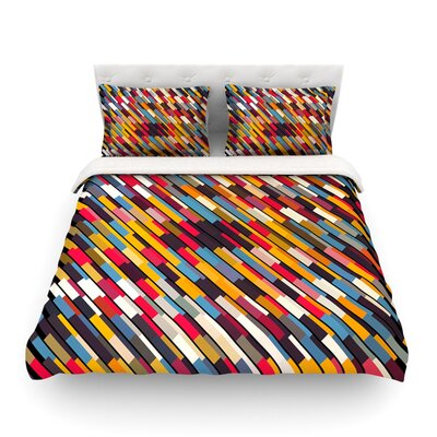 Texturize by Danny Ivan Featherweight Duvet Cover Size: Full/Queen