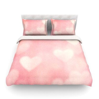 Love is in the Air by Heidi Jennings Featherweight Duvet Cover Size: King