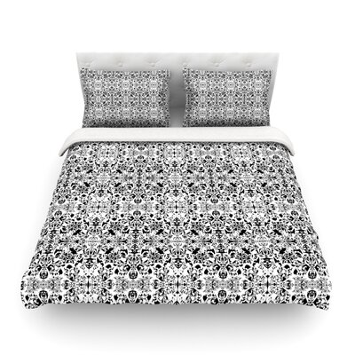 Fancy Damask by Mydeas Featherweight Duvet Cover Size: Twin
