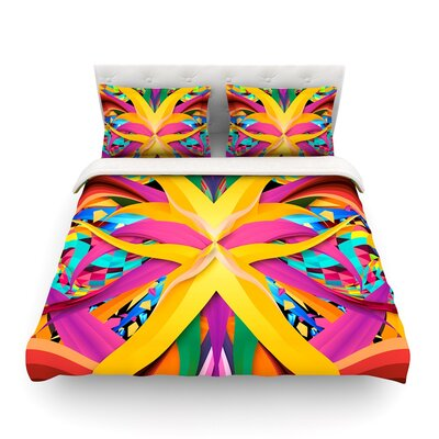 Tropical Fun by Danny Ivan Featherweight Duvet Cover Size: Full/Queen
