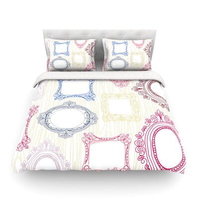 Ive Been Framed by Heidi Jennings Featherweight Duvet Cover Size: Full/Queen