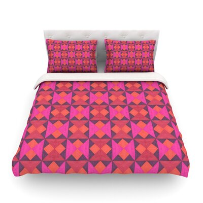 A Quilt Pattern by Empire Ruh Featherweight Duvet Cover Size: Full/Queen