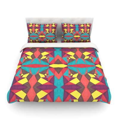 Abstract Insects by Empire Ruh Featherweight Duvet Cover Size: Twin