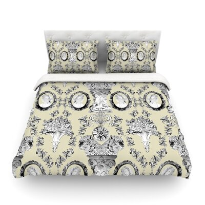 Imperial Palace by DLKG Design Featherweight Duvet Cover Size: Twin