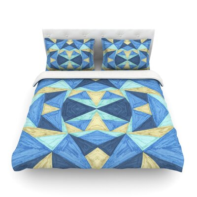 The Blues by Empire Ruh Featherweight Duvet Cover Size: Full/Queen