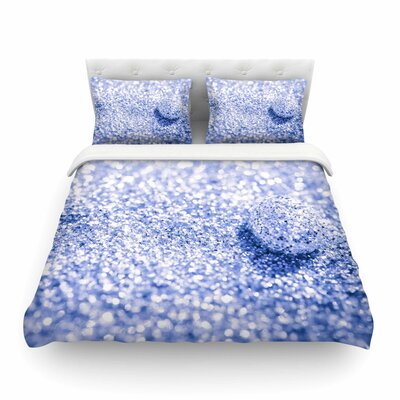 Sparkle Glitter Bokeh by Debbra Obertanec Featherweight Duvet Cover Size: Full/Queen
