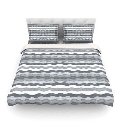 51 Shades of Gray by Empire Ruhl Featherweight Duvet Cover Size: King