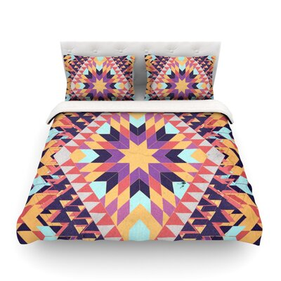 Ticky Ticky by Danny Ivan Featherweight Duvet Cover Size: Full/Queen