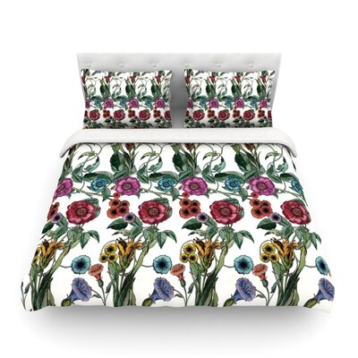 Margaret by DLKG Design Featherweight Duvet Cover Size: King