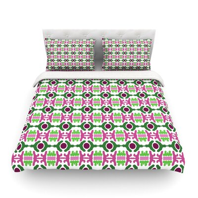 Island Dreaming Abstract by Empire Ruh Featherweight Duvet Cover Size: King