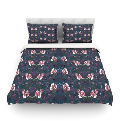 Cool Stitch by DLKG Design Featherweight Duvet Cover Size: Full/Queen