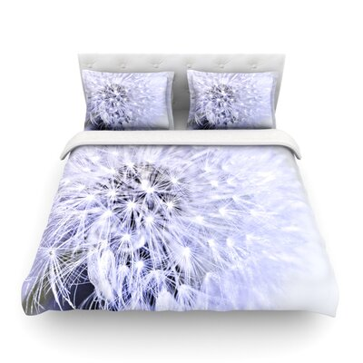 Wish Flower by Debbra Obertanec Featherweight Duvet Cover Size: Twin