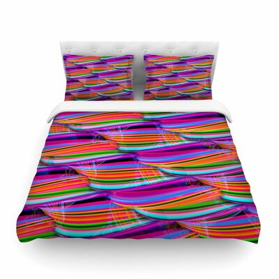 Super Candy by Danny Ivan Featherweight Duvet Cover Size: Twin