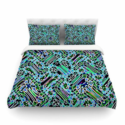Camouflage Pattern Mixed Media by Dawid Roc Featherweight Duvet Cover Size: Full/Queen