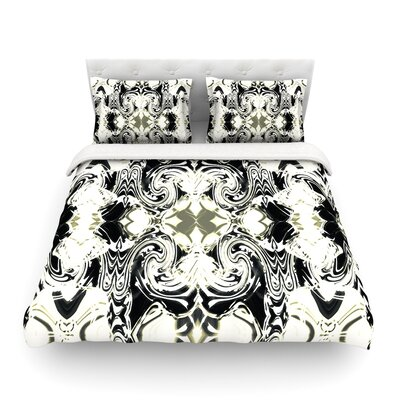 The Palace Walls Abstract by Dawid Roc Featherweight Duvet Cover Size: Twin