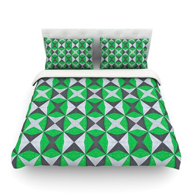 Abstract by Empire Ruhl Featherweight Duvet Cover Size: Twin