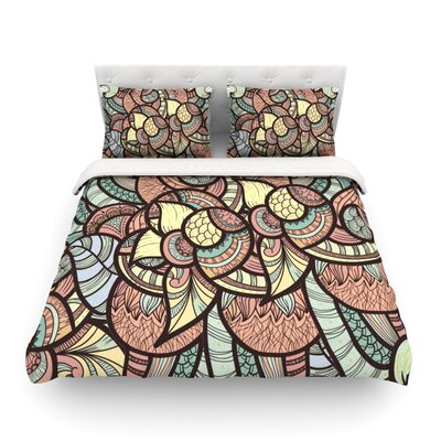 Wild Run by Danny Ivan Featherweight Duvet Cover Size: King