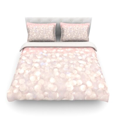Magical Glitter by Debbra Obertanec Featherweight Duvet Cover Size: Full/Queen