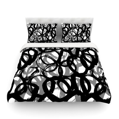 Rhythm by Emine Ortega Featherweight Duvet Cover Size: King