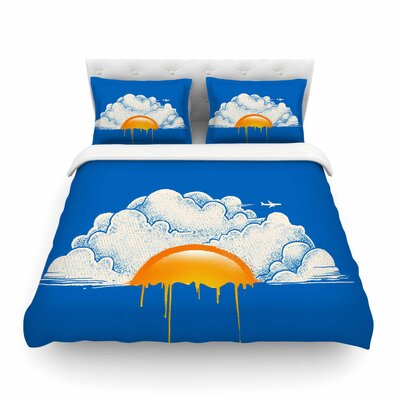 Breakfast Food Digital Carbine Featherweight Duvet Cover Size: King
