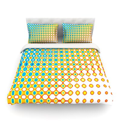 Psychedelic Art by Dawid Roc Featherweight Duvet Cover Size: Twin