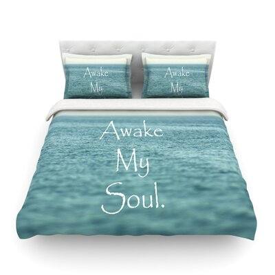 Awake My Soul by Debbra Obertanec Featherweight Duvet Cover Size: King